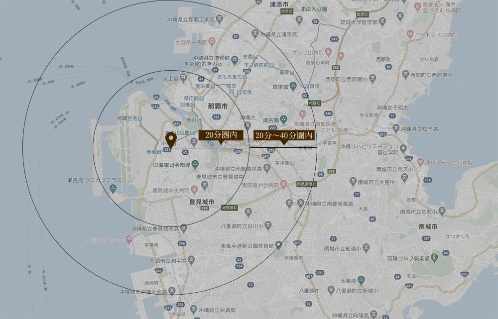 派遣可能範囲地図